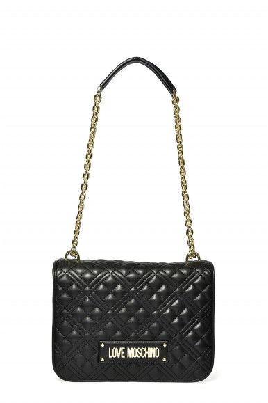 LOVE MOSCHINO BORSA NERA TRAP 4000