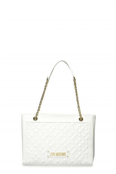 LOVE MOSCHINO BORSA BIANCA TRAP 4006