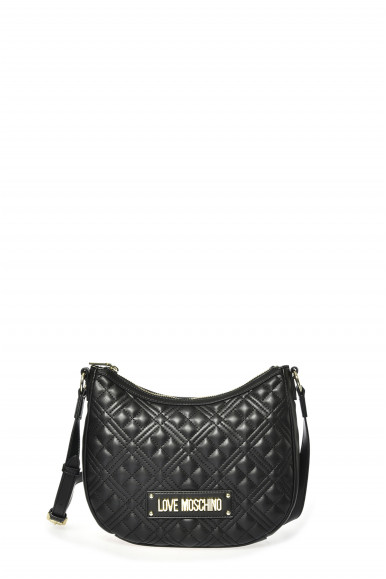 LOVE MOSCHINO BORSA NERA TRAP 4015