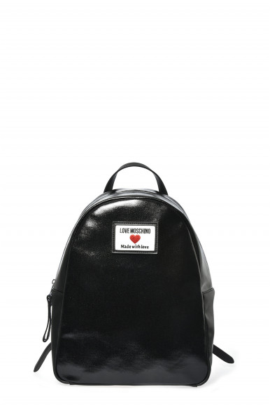 LOVE MOSCHINO ZAINO NERO CANVAS 4031
