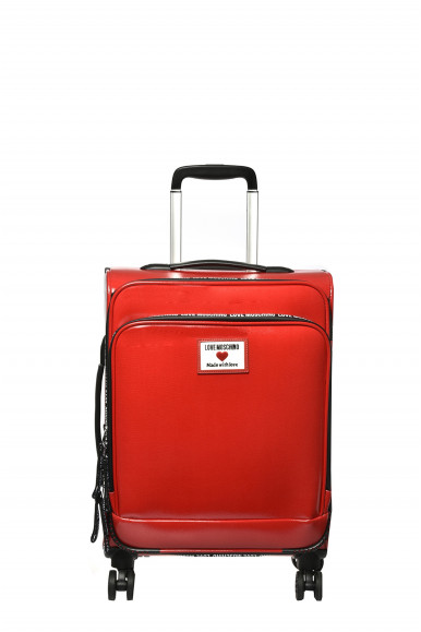 LOVE MOSCHINO TROLLEY ROSSO 5100
