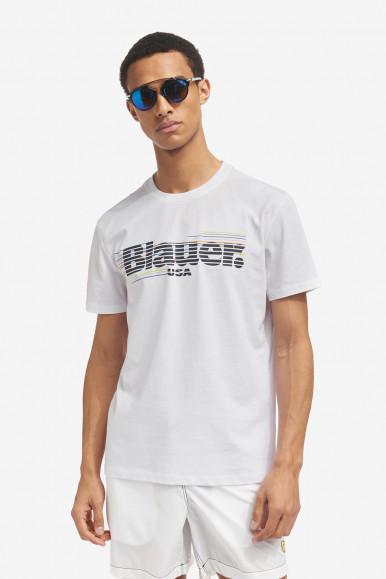 BLAUER T-SHIRT UOMO BIANCA 2334