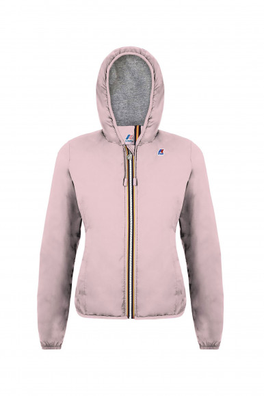 K-WAY  GIACCA ROSA LILY POLY JERSEY