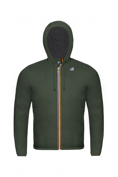 K-WAY JACQUES NYLON JERSEY VERDE MILITARE