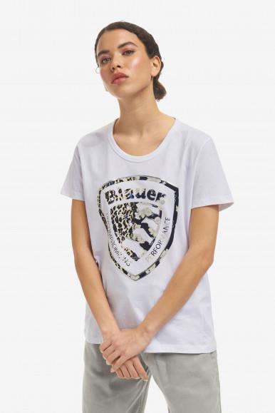 BLAUER T-SHIRT DONNA BIANCA 2138