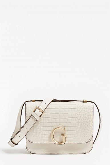 GUESS BORSA CORILY CONVERTIBLE BIANCO