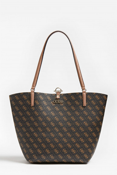 GUESS BORSA MARRONE ALBY