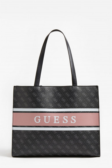 GUESS BORSA GRIGIA MONIQUE TOTE