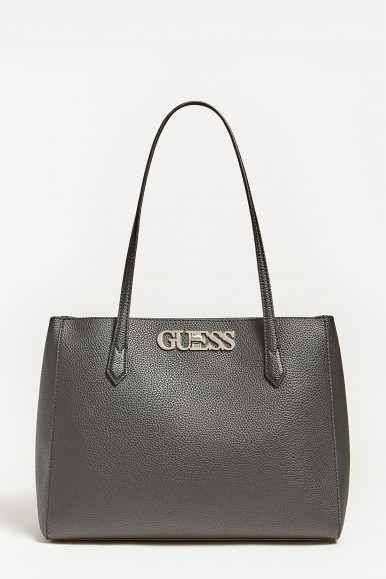 GUESS BORSA SHOPPER NERA UPTOWN CHIC