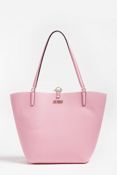 GUESS BORSA SHOPPER ROSA ALBY TOGGLE TOTE