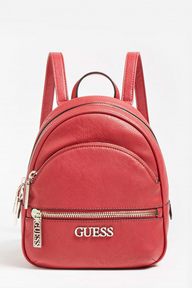 GUESS ZAINO MINI ROSSO MANHATTAN