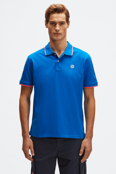 NORTH SAILS POLO CON LOGO 2241 BLU ROYAL