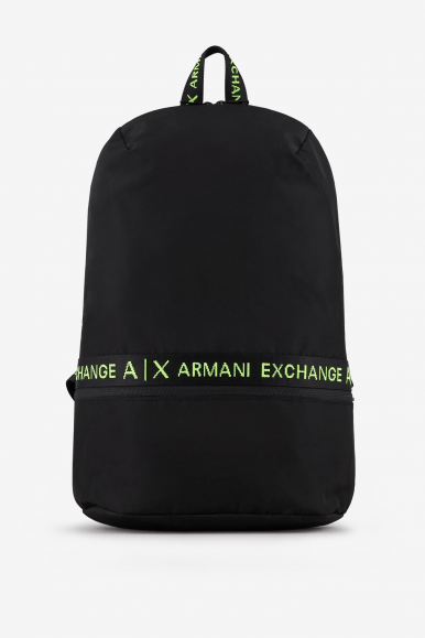 ARMANI EXCHANGE ZAINO 952303 NERO-LIME