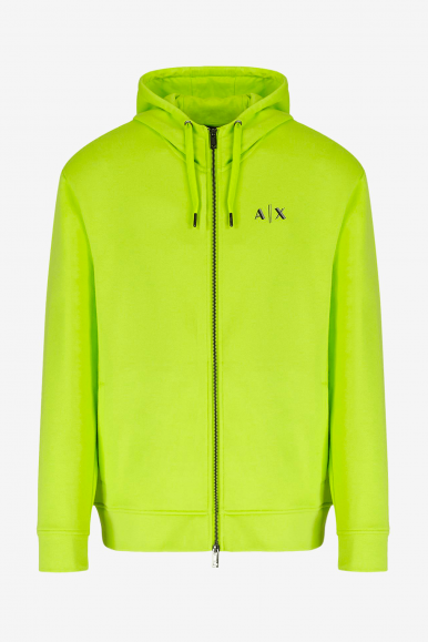 ARMANI EXCHANGE FELPA 3KZMFJ LIME