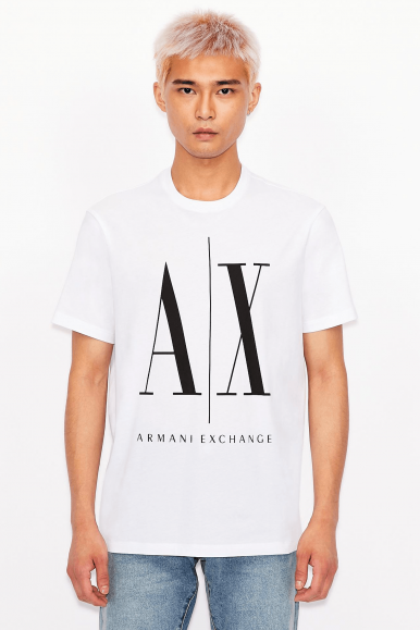 ARMANI EXCHANGE T-SHIRT 8NZTPA BIANCO
