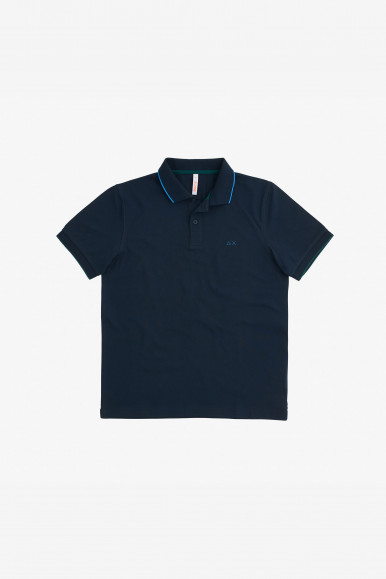 SUN 68 POLO SMALL STRIP A31110