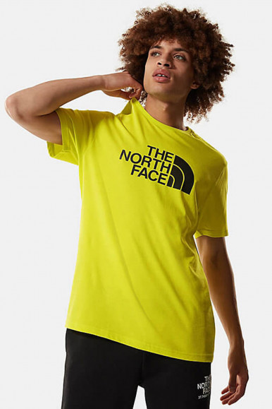 T-SHIRT UOMO THE NORTH FACE LIME EASY