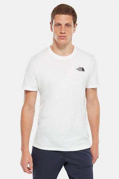 T-SHIRT UOMO THE NORTH FACE BIANCO SIMPLE DOM