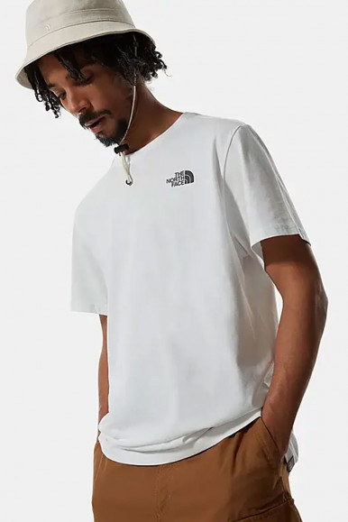 T-SHIRT UOMO THE NORTH FACE BIANCO REDBOX CEL
