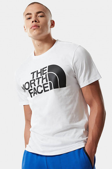 T-SHIRT UOMO THE NORTH FACE BIANCO STANDARD