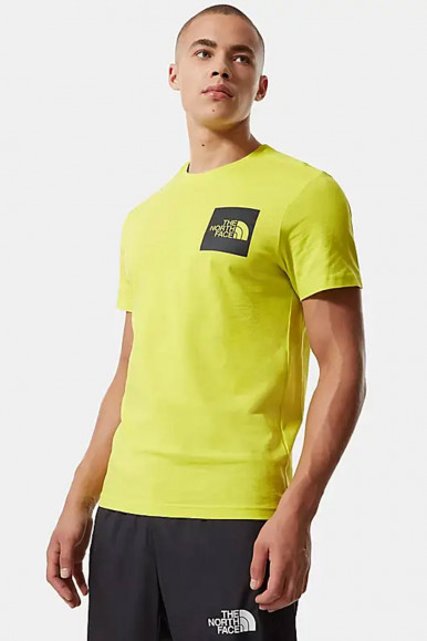 T-SHIRT UOMO THE NORTH FACE LIME FINE