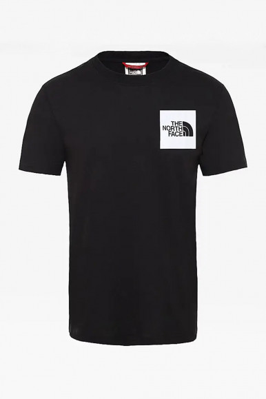 T-SHIRT UOMO THE NORTH FACE NERO FINE