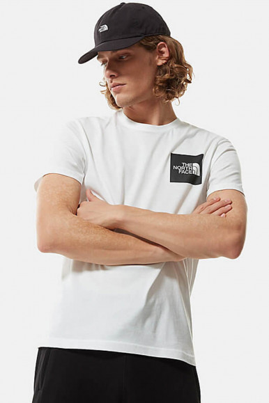 T-SHIRT UOMO THE NORTH FACE BIANCO FINE