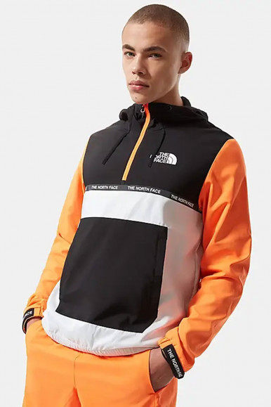 GIUBBINO UOMO THE NORTH FACE ARANCIO  WIND