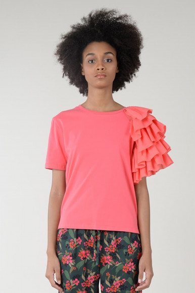 T-SHIRT ROSA MOLLY BRACKEN EL132P21