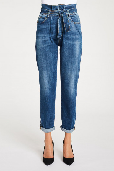 JEANS DONNA DENIM GAUDì BALLOON BD26016