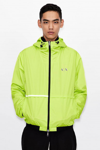 GIUBBINO UOMO ARMANI EXCHANGE LIME 3KZB11