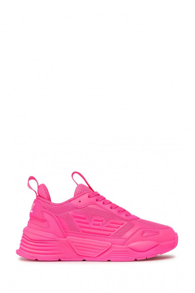 EA7 SNEAKERS DONNA ROSA FLUO X8X070-XK165