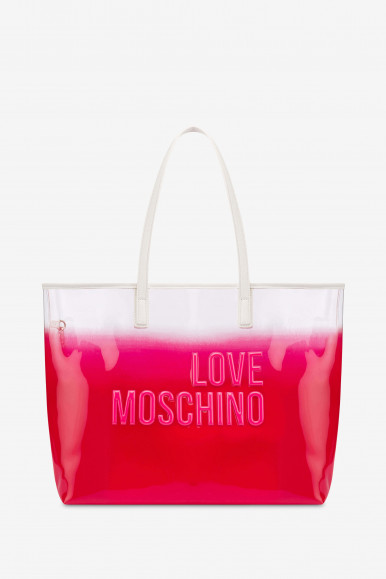 MOSCHINO BORSA PVC 4255 ROSA