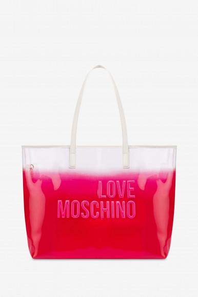MOSCHINO BORSA PVC 4255