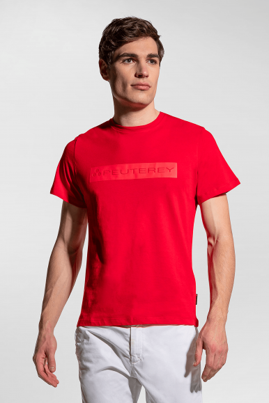 PEUTEREY T-SHIRT ANDROS PTY 02 ROSSO PEU3518