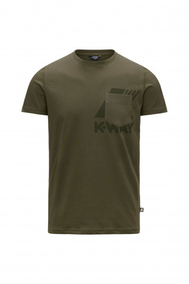 K-WAY T-SHIRT ROS