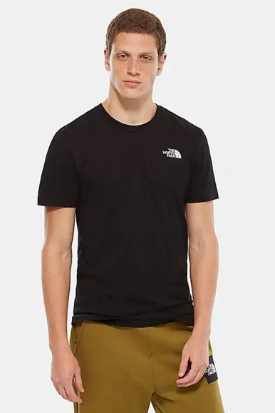T-SHIRT UOMO THE NORTH FACE SIMPLE DOM NERO