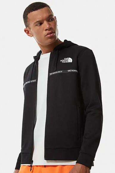 GIUBBINO FELPA UOMO THE NORTH FACE OVERLAY NERO