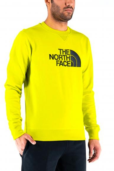 THE NORTH FACE FELPA G/C DREW PEAK GIALLO 8NF0A4T1E