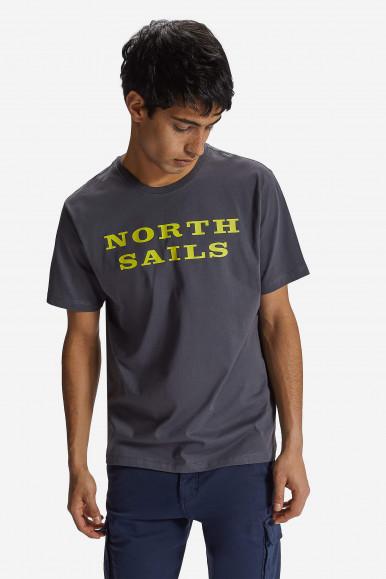 T-SHIRT NORTH SAILS W/GRAPHIC 2690 GRIGIO ASFALTO