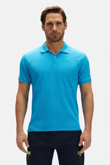 POLO NORTH SAILS W/EMBROIDERY 2327 TURCHESE