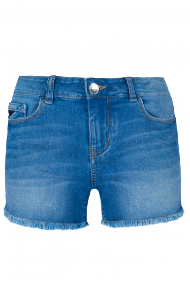 YES-ZEE SHORT DONNA BLU JEANS P234-X617