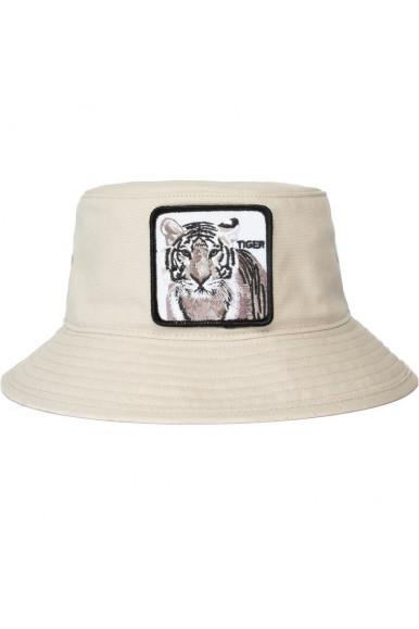 GOORIN BROS TIGER BUCKET HAT WHITE