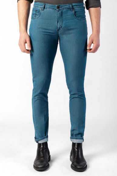 CAMOUFLAGE JEANS BEST FIVE A38