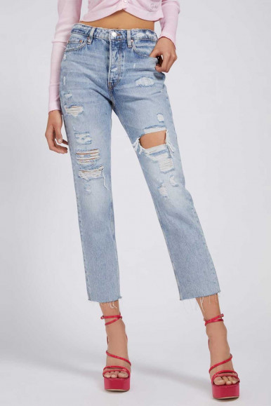 GUESS LUGHT JEANS WOMAN GIRLY ITHS