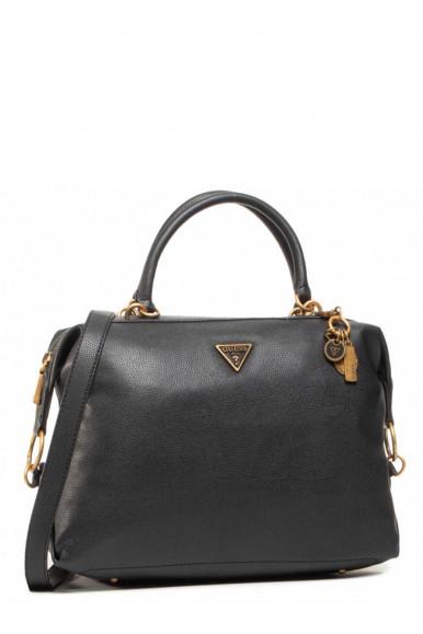 GUESS BAG WOMAN BLACK DESTINITY SATCHEL