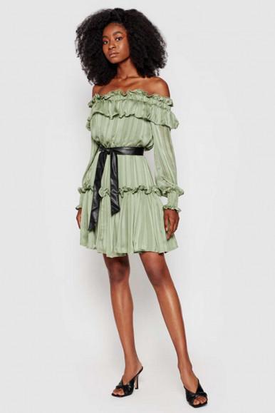 GUESS GREEN WOMAN DRESS ALESSIA