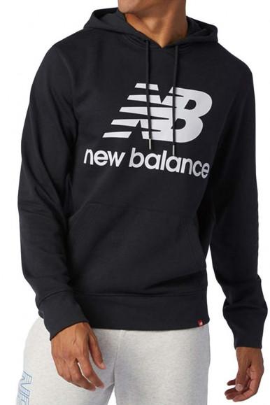 N BALANCE MAN BLACK HOODIE MT03558