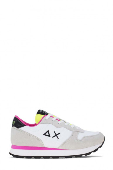 SUN 68  WOMAN GREY-FUXIA SHOES ALLY  SOLID