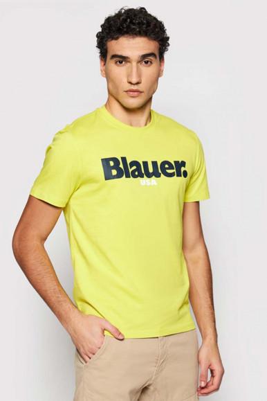 BLAUER MAN  ACID-GREEN T-SHIRT 2128